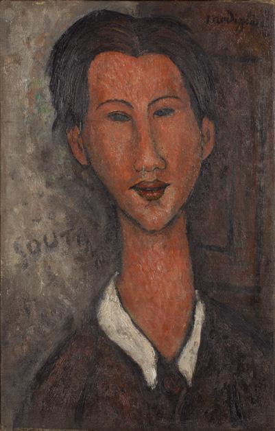 Amedeo Modigliani Ritratto di Soutine 1917 Olio su tela