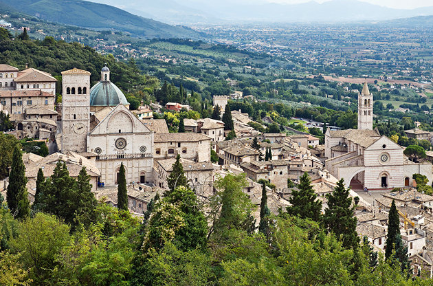 Assisi - veduta