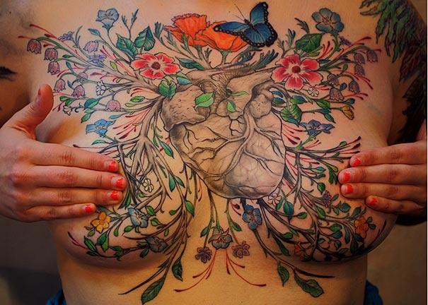 cancro al seno-sopravvissuti-mastectomia-tatuaggi-art-2