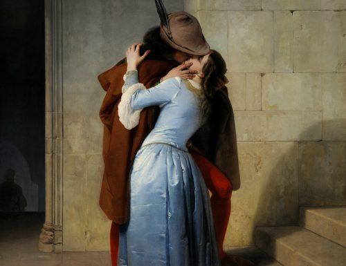 Il bacio di Francesco Hayez. Il bel Paese tra unità, gioventù e amore