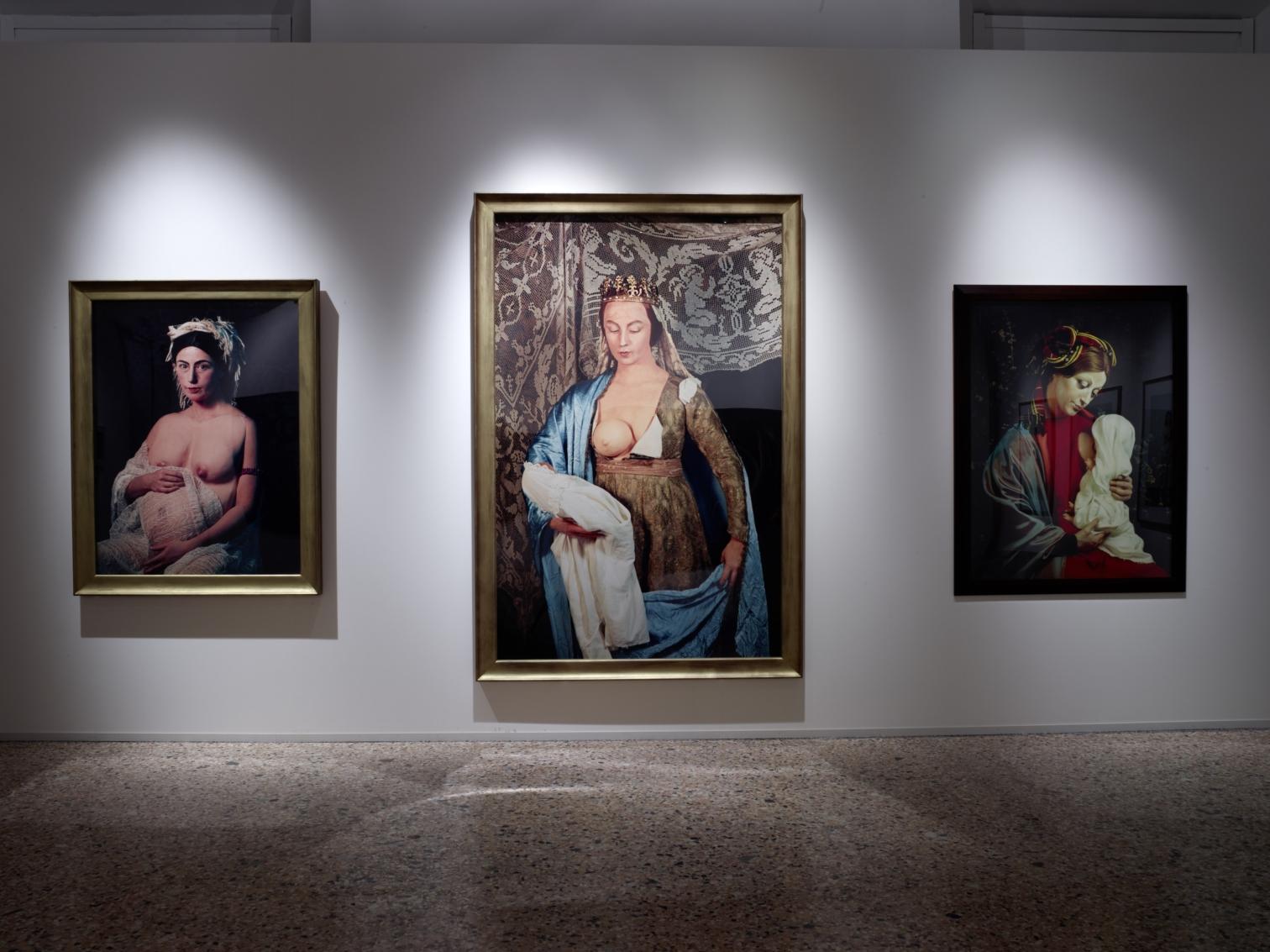 La Grande Madre, Palazzo Reale, Milano – Cindy Sherman (foto Marco De Scalzi, courtesy Fondazione Nicola Trussardi, Milano)