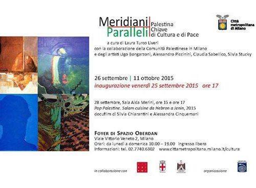 Meridiani Paralleli-Palestina Chiave di Cultura e di Pace.