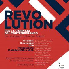 Revolution per la Giornata del Contemporaneo