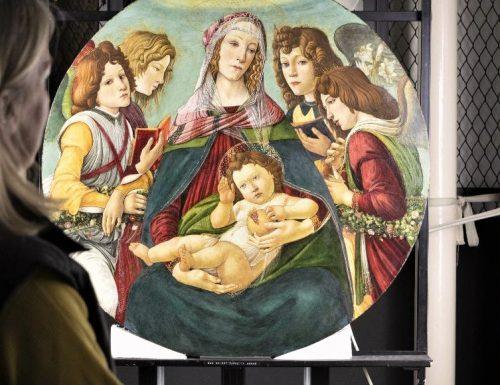 Attribuito alla scuola di Botticelli la copia londinese della Madonna della Melagrana