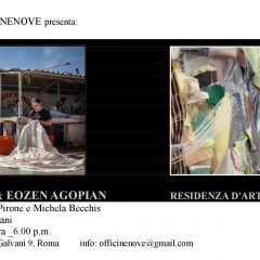 Elina Chauvet & Eozen Agopian_Residenza d'artista